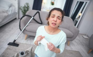 Alergia a sprzątanie – jak uniknąć podrażnień skóry?